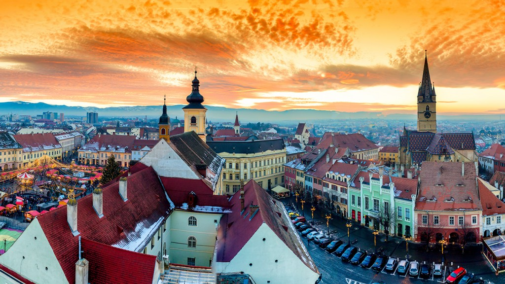 Overview of Sibiu, Transylvania 3